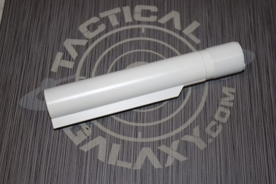 BUFFER TUBE FOR AR15 WHITE CERAKOTE (MIL-SPEC)