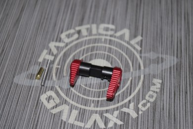 Timber creek red anodized AMBI SAFETY for AR15