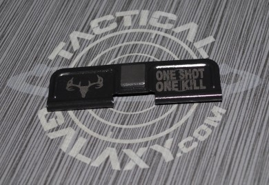 AR-15 DEER SKULL ONE SHOT ONE KILL Ejection Port Dust Cover