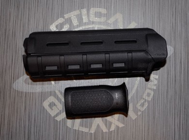 MAGPUL BLACK CARBINE FOREARM AND MVG GRIP