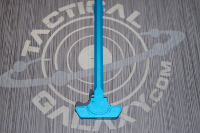 AR-15 Blue Anodized charging handle