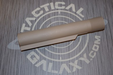 BUFFER TUBE FOR AR15  FDE CERAKOTE (MIL-SPEC)