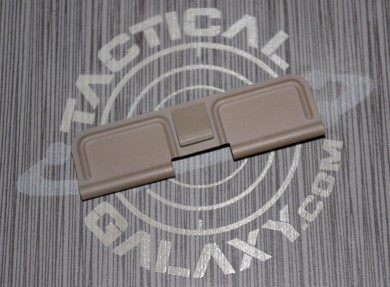 AR15 FDE or ODG Ejection Port Dust Cover With Custom Text or Logo