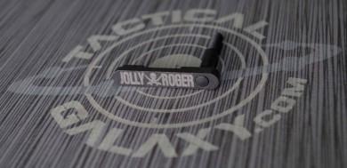 JOLLY ROGER AR-15/M4 LOWER MAGAZINE RELEASE CATCH ( LATCH ) CALICO JACK