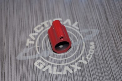 LOW PROFILE GAS BLOCK for AR15 CRIMSON RED CERAKOTE