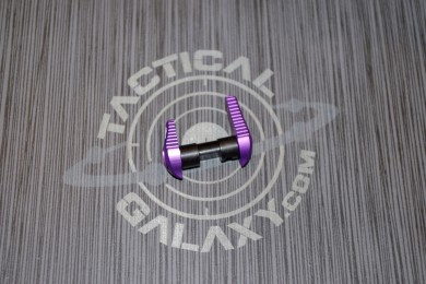 AR-15 Blood Moon Purple Anodized AMBIDEXTROUS SAFETY