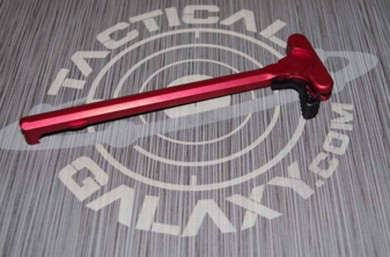 AR-15 RED ANODIZED MAG CATCH