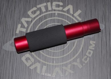 RED Anodized PISTOL SIZE  AR15 / M16 / M4  Buffer  Tube