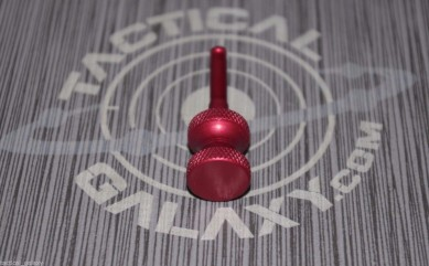 RED ANODIZED TACTICAL CHARGING HANDLE BOLT FOR BENELLI