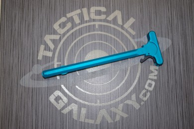 AR15 Teal Anodized Charging Handle