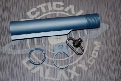 AR15 TITANIUM BLUE CERAKOTE 3 PC REAR KIT