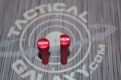 RED Anodized WE THE PEOPLE AR-15 Extended Takedown Pins