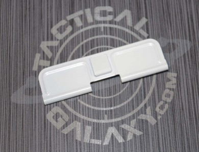 AR-15 WHITE CERAKOTE EJECTION PORT DUST COVER
