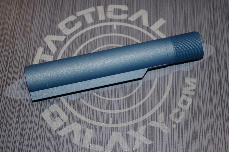 BUFFER TUBE FOR AR15 TITANIUM BLUE CERAKOTE (MIL-SPEC)
