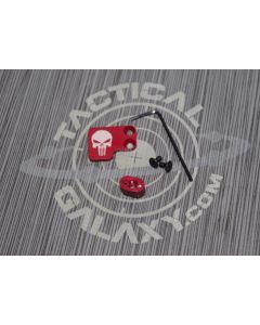 RED PUNISHER 2 PC BUTTON AR15