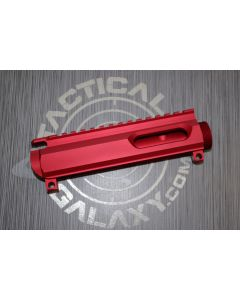 AR15 9MM DEDICATED STRIPPED BILLET UPPER RECEIVER RED ANODIZED