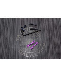 AR15 / AR-10 Blood Moon Purple Anodized Anti Walk Hammer Trigger Pins