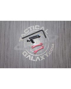 AR15 / AR-10 Red Anodized Anti Walk Hammer Trigger Pins