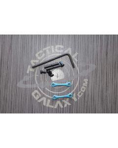 AR15 / AR-10 Teal Anodized Anti Walk Hammer Trigger Pins