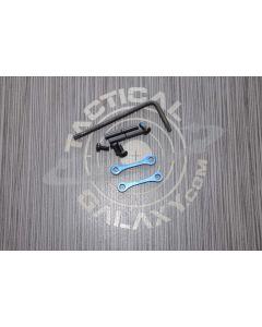 AR15 / AR-10 Blue Anodized Anti Walk Hammer Trigger Pins