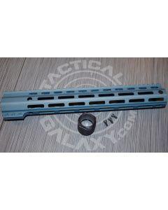 """Tactical Galaxy 13"""" titanium blue Handgaurd"""
