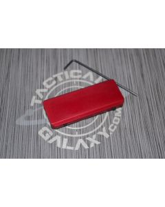AR15 RAIL COVER - RED ANODIZED