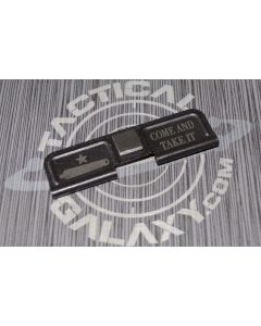 AR-15 COME AND TAKE IT Ejection Port Dust Cover