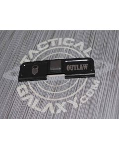AR-15 OUTLAW BANDIT SKULL Ejection Port Dust Cover