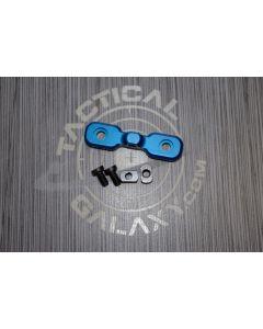 AR15 Blue Anodized Keymod Bipod Adaptor