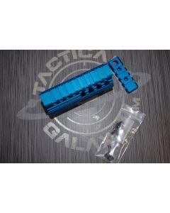 AR15 Blue Anodized 4 INCH HAND GUARD RAIL