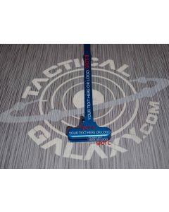AR15 Blue Anodized charging handle With Custom