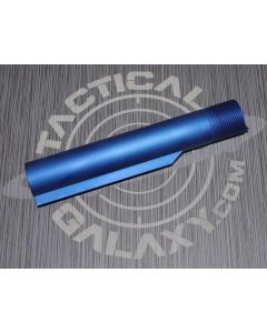 AR15 BLUE  Anodized BUFFER TUBEmil-spec With Custom Text or Logo.