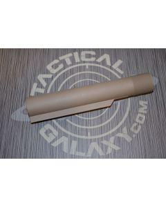 BUFFER TUBE FOR AR15  FDE CERAKOTE (MIL-SPEC)