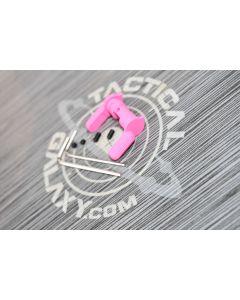 AR15  AMBI SAFETY SELECTOR LEVER PINK CERAKOTE
