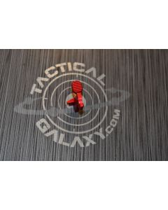 AR-15 RED ANODIZED  BOLT CATCH