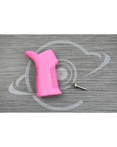 Pink Cerakote AR15 17° pistol grip