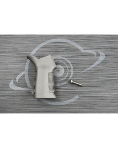 Tungsten Cerakote AR15 17° pistol grip