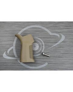 FDE Cerakote AR15 17° pistol grip ( Flat Dark Earth )