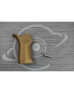 Burnt Bronze Cerakote AR15 17° pistol grip
