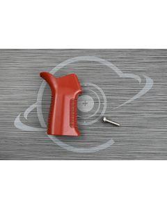 Crimson Red Cerakote AR15 17° pistol grip