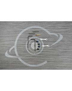 WHITE CERAKOTE Anti Walk Hammer Trigger Pins