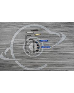 NRA BLUE CERAKOTE Anti Walk Hammer Trigger Pins