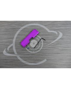 adjustable purple dust cover for AR15