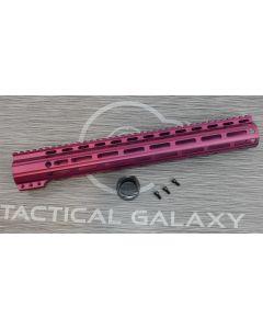 "Tactical Galaxy 15"" BLACK CHERRY clamp on Handgaurd"