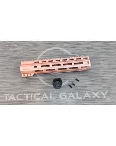 "Tactical Galaxy 10"" Rose Gold Handgaurd"