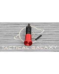 OEM STYLE RED ANODIZE FORWARD ASSIST ASSEMBLY FOR AR15 / AR10