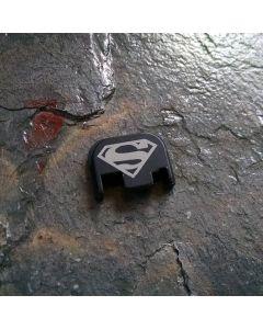 REAR SLIDE COVER PLATE FOR GLOCK - Superman