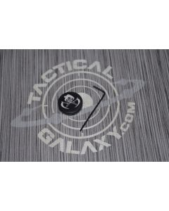 AR-15 2PC Oversized Magazine Extended Release Button - Grim Reaper