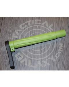 "ZOMBIE GREEN CERAKOTE AR-15  Fixed  ""MINIMALIST"" STOCK"