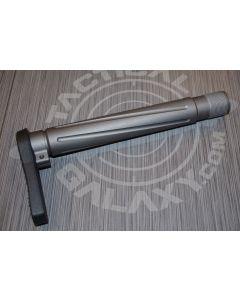 "TUNGSTEN CERAKOTE AR-15  Fixed  ""MINIMALIST"" STOCK"